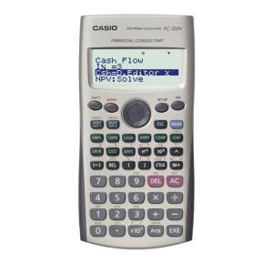 Casio FC100V Financial Calculator Silver