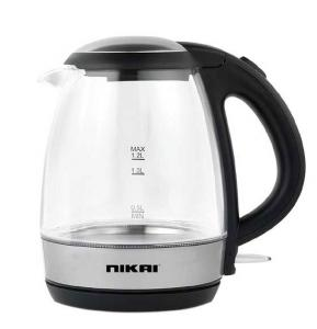 Nikai Glass Kettle 1.2 Liter, NK303G