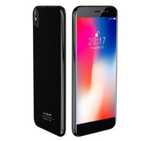 S-Color Phone X 4G Smartphone, Android 7.0, 5.8 Inch HD Display, 3GB RAM, 32GB Storage, Dual Camera, Dual Sim, Wifi- Black With FaceID