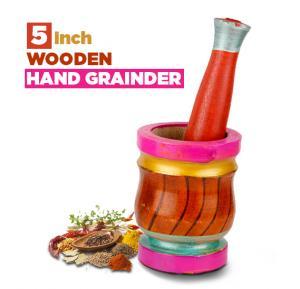 Wooden hand grainder 5inch, MS2001