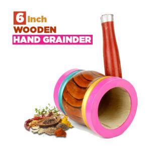 Wooden hand grainder 6inch, MS2002