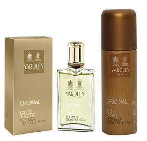 Set of Yardley Original Eau de Toilette and Yardley Original Body Spray 150ML - 35357PRO