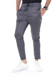 Kenyos Knit Track Pants For Men Light Gray - BCCE62303X - M