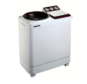 Geepas Semi Auto Twin Tub Washing Machine 7Kg, GSWM6474