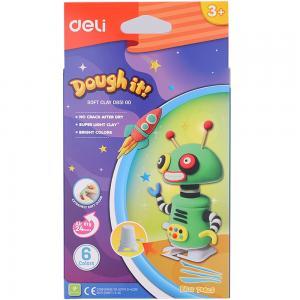 Deli Soft Clay 6 Colors, D85100