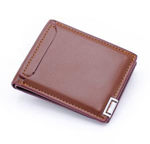 Jiansu Leather Wallet - 18S-17 Brown