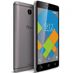 Nuu A4L Plus 1GB 16GB Android  Smart Phone-Grey