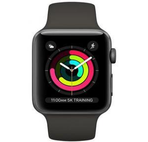Apple Watch Series 3 - 42mm Aluminum Case, MR362 - Space Gray