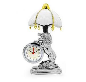 Bait Al Designer Table Clock With Led Lamp