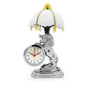 Bait Al Designer Table Clock With Led Lamp
