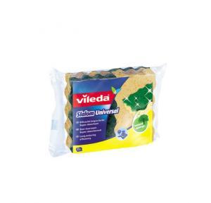 Vileda Slalom Universal Medium Foam Dish Washing Sponge Scourer 2Pcs - Vlsc113625