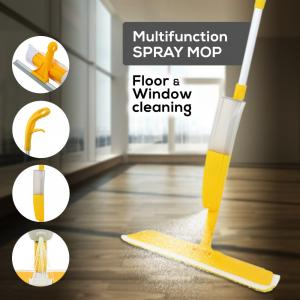 Multi Function Floor & Window Cleaning Spray Mop,Assorted Color