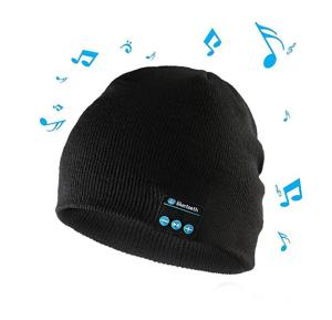 Wireless Bluetooth Beanie Headphone Stereo Music Headset Detachable Winter Hat Hands-free Cap for Exercise Sports Workout