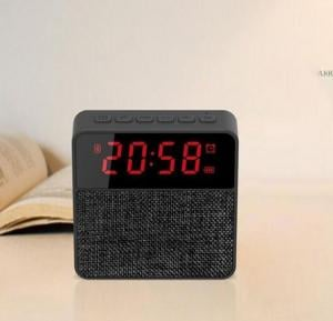 T1 Multi-functional Wireless Bluetooth Speaker with LED Alarm Clock and FM radio