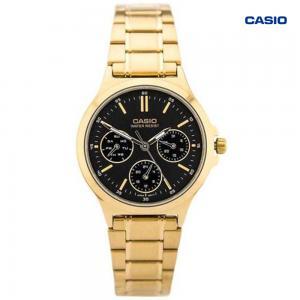 Casio LTP-V300G-1AVDF Analog Watch For Women, Gold