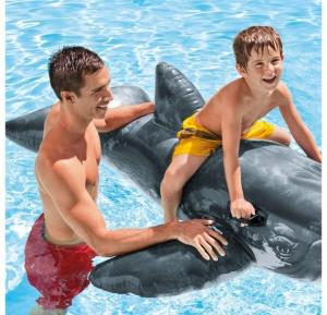 Intex Realistic Whale Ride-On, 57530