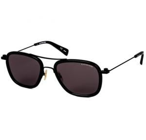 G-Star Aviator Black Frame & Grey Mirrored Sunglasses For Unisex - GS111S-001