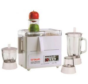 Crownline 4 In 1 Juicer Blender Food Processor - FP-164