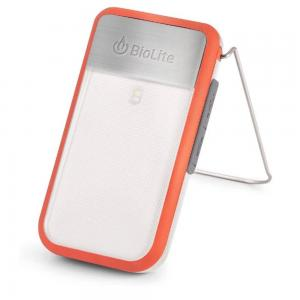 BioLite Power Light Mini Wearable Light and Power Bank, Red