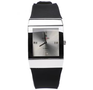 Censor Collection square cut fashion Wrist watch 2207M, Black, Royalhand