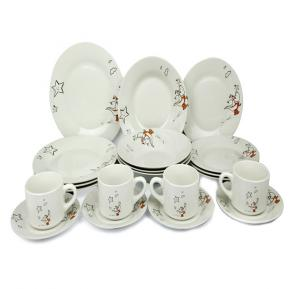 In house 20pcs ceramic dinner set ,DS-4808