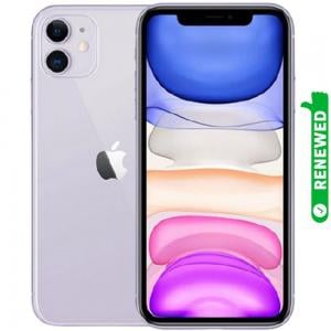 Apple iPhone 11 With FaceTime Purple 64GB 4G LTE Renewed- S