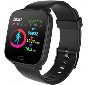 IQ Active X5 Smart Watch, Black