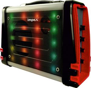 Impex Multimedia Portable Speaker System,TS 4001