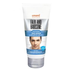 Emami Fair&Handsome Advanced Whitening Regenerating Face Scrub 75ml - 9573