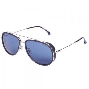 Carrera 166/S Silver Pilot Sunglasses for Men, Size 59