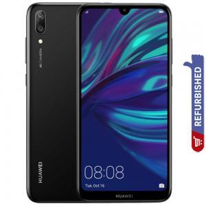 Huawei Y7 Pro 2019 Dual SIM Black 4GB RAM 128GB Storage 4G LTE, Refurbished