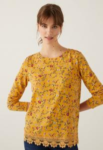 Springfield T-Shirt for Women, Yellow