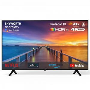 Skyworth LED-55SUC8300 55 Inch Android 4K UHD LED TV, Black
