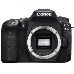 Canon 90D Digital DSLR Camera Body Only, 32.5 MP, Black