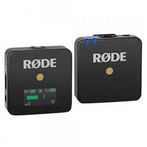 Rode 2 Piece Wireless Go Compact Microphone System Set, Black