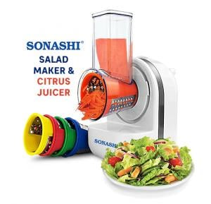 Sonashi Salad Maker And Citrus Juicer, SSLM-885 (VDE)