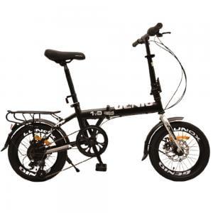 Genio 2.0 Folding Bicycle, Black