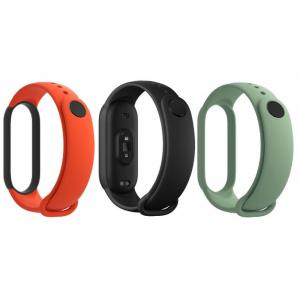 Mi Smart Band 5 Strap 3 Pack Black/Orange/Cyan