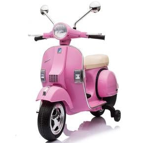 Vespa Electric Rideon Motorcycle PX150 for Kids Pink