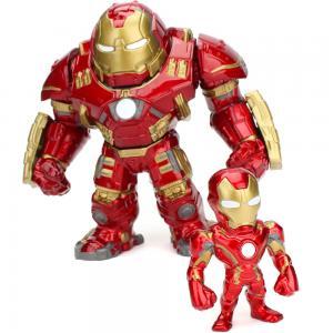Jada Marvel Figure 6 Hulkbuster plus 2 Ironman, 253223002