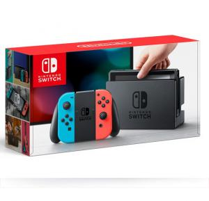 Nintendo Switch (Neon Blue / Neon Red) - Nintendo Switch Neon-Japan