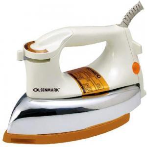 Olsenmark Omdi1741 Dry Iron With Nonstick Soleplate