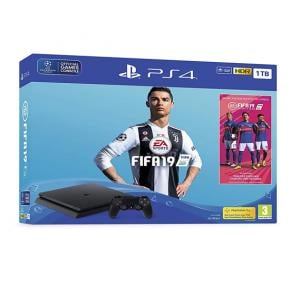 Sony PlayStation 4 1TB free Fifa 19 Games - Ps4 1Tb Fifa19