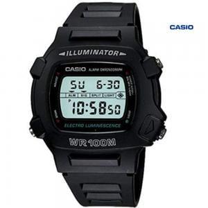 Casio W-740-1VHDF Digital Watch For Men, Black