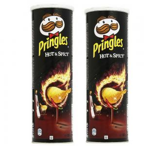 Pringles Hot, Spicy Flavoured Chips 165gm Movie Dual Pack