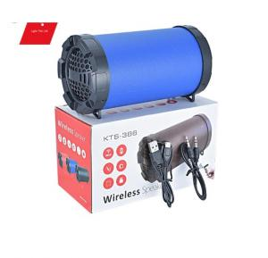 Universal portable high-power Wireless Bluetooth Speaker With Micro SD & USB Support - KTS-386