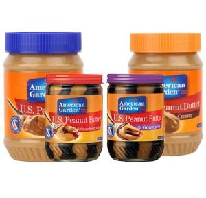 American Garden Special peanut Butter Combo pack of 4