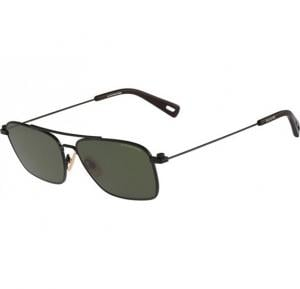 G-Star Aviator Matte Black Frame & Green Mirrored Sunglasses For Unisex - GS113S4-002