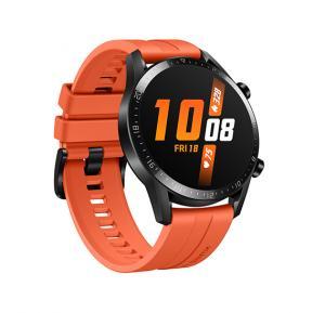 Huawei GT2 Smartwatch (Sports Edition) Sunset Orange 46 millimeter