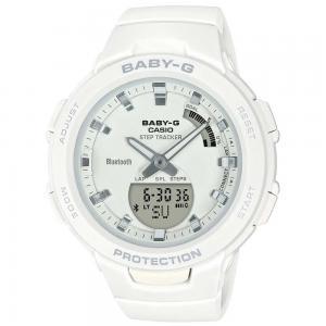 Baby-G Athleisure Series Womens Watch, BSA-B100-7ADR, White